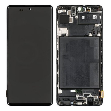 SAMSUNG A515 - LCD - Complete front + Touch Black Original