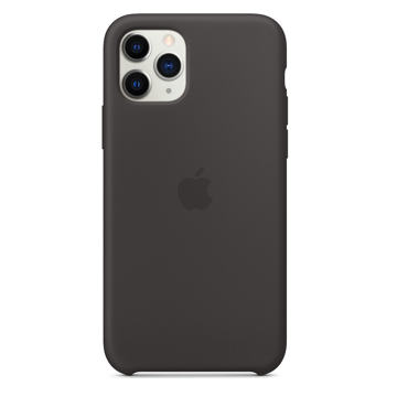 APPLE iPhone 11 Pro - ORIGINAL ΘΗΚΗ ΣΙΛΙΚΟΝΗΣ BLACK , BLISTER