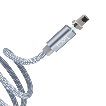 HOCO - U40A DATA CABLE LIGHTNING GRAY