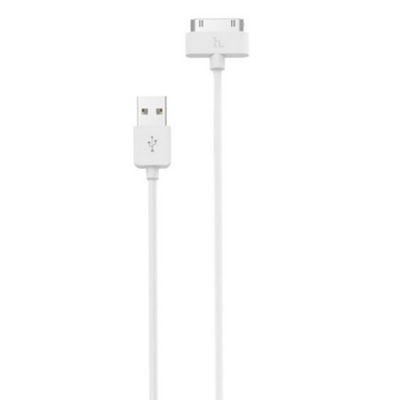 HOCO - DATA CABLE IPHONE 4 1m WHITE