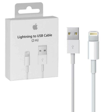 APPLE iPhone - ORIGINAL DATA CABLE LIGHTNING TO USB 2.0 ΛΕΥΚΟ 2m, BLISTER