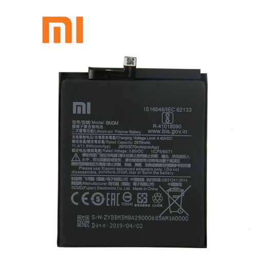 XIAOMI Mi 9 - ORIGINAL BATTERY BM3M 2970mAh LI-ION, Bulk