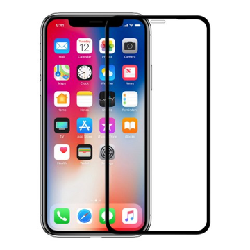 APPLE iPhone 11 Pro Max - TEMPERED GLASS 9H Hardness 0,3mm 5D ΜΑΥΡΟ Full Glue