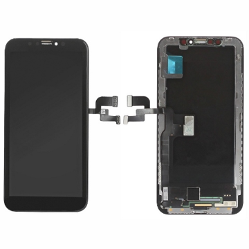 APPLE iPhone X - LCD + Touch Black Lcd