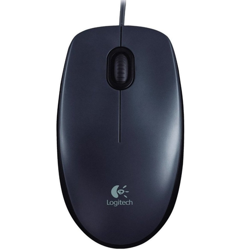 Logitech Mouse M90 Wired Black