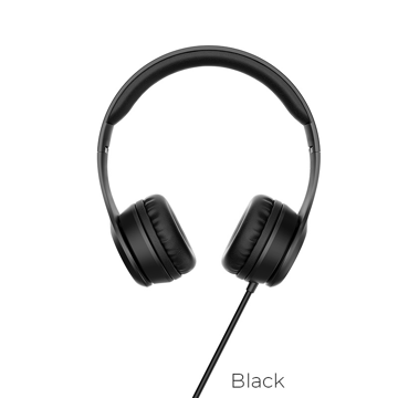HOCO - W21 WIRED HEADPHONES 1,2m BLACK
