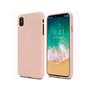 XIAOMI Mi Note 10 / 10 Pro - ΘΗΚΗ ΣΙΛΙΚΟΝΗΣ MERCURY SOFT FEELING TPU LIGHT PINK