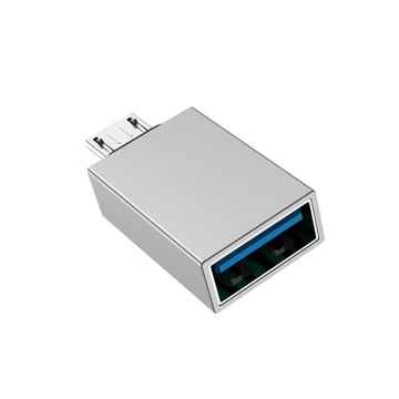 BOROFONE - BV2 ADAPTER USB OTG TO MICRO USB SILVER