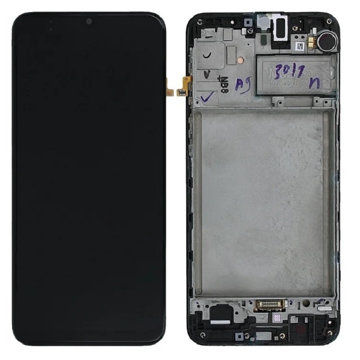 SAMSUNG SM-A217F Galaxy A21s - LCD - Complete front + Touch Black Original