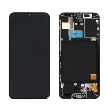 SAMSUNG SM-A315F Galaxy A31 - LCD - Complete front + Touch Black Original