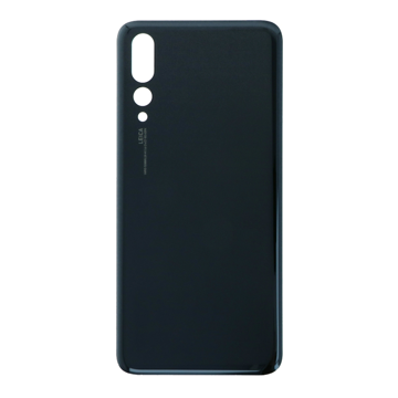HUAWEI P20 Pro - Battery cover + Adhesive Black High Quality