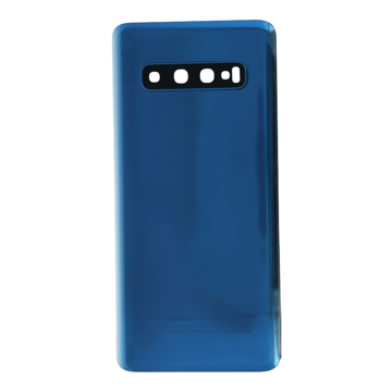 SAMSUNG G973F - Battery cover + Adhesive + Camera Lens Blue OEM
