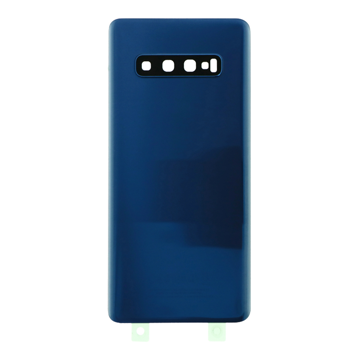 SAMSUNG G975F - Battery cover + Adhesive + Camera Lens Blue OEM