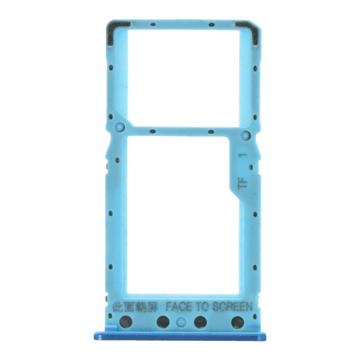XIAOMI Redmi 6A - SIM Card Tray Blue Original