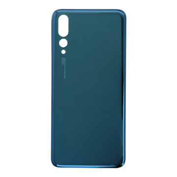 HUAWEI P20 Pro - Battery cover + Adhesive Blue High Quality