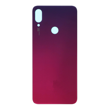 XIAOMI Redmi Note 7 - Battery cover + Adhesive Red High Quality