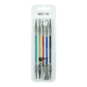 Motherboard CPU Remover Glue Tools Best BST-70 5 knifes set