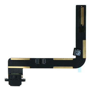 APPLE iPad Air / 9.7 (2017) / 9.7 (2018) - Charging Flex Cable Connector Black Original
