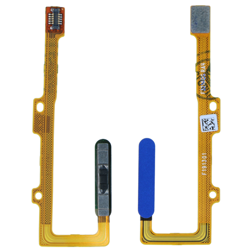HUAWEI Honor 20 / Nova 5T - Fingerprint sensor flex cable Blue Original