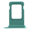 APPLE iPhone 11 - SIM Card Tray with waterproof rubber ring Green Original