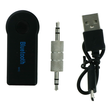 Bluetooth Music Receiver with 3.5mm audio jack.