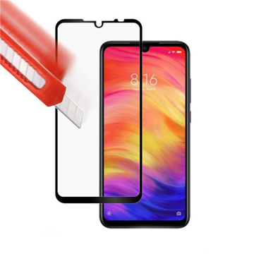XIAOMI Redmi Note 8 - TEMPERED GLASS 9H Hardness 0,3mm 5D ΜΑΥΡΟ FULL GLUE