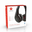 MOTOROLA - PULSE ESCAPE BLUETOOTH  HEADPHONES BLACK