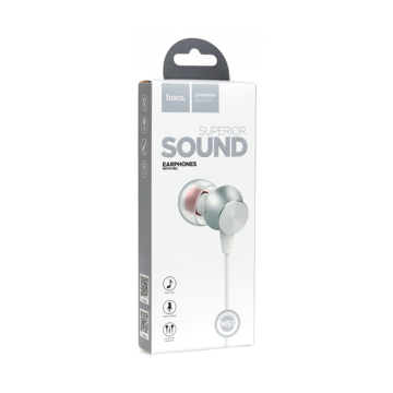 HOCO - M51 STEREO WIRED EARPHONES HANDS FREE WHITE