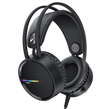 HOCO - W100 TOURING GAMING WIRED HEADPHONES BLACK