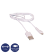 OSIO - DATA CABLE microUSB 1,2m WHITE