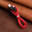 HOCO - X29 SUPERIOR STYLE DATA CABLE Type C 1m RED