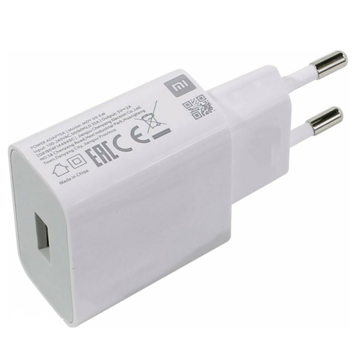 ORIGINAL TRAVEL CHARGER USB 5V 2A WHITE BULK
