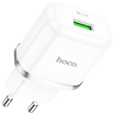 HOCO - N2 VIGOUR SINGLE USB TRAVEL CHARGER SINGLE USB 5V/2,1A WHITE