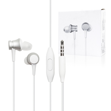 Handsfree Xiaomi Mi Basic In Ear Silver (ZBW4355TY)