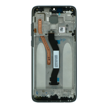 XIAOMI Redmi Note 8 Pro - LCD + Frame + Touch Black OEM