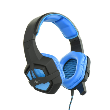 ART - Flash Gaming headphones Black / Blue