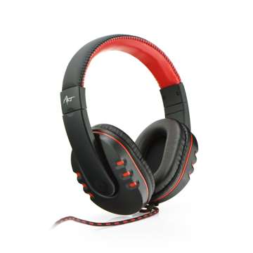 ART - Nemezis Gaming microphone headphones Black / Red