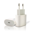 USB TRAVEL CHARGER 20W Type-C WHITE UNIVERSAL
