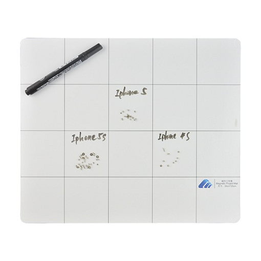 UNIVERSAL - Βάση Βιδών - Magnetic Screw Keeper Chart Mat with Pen