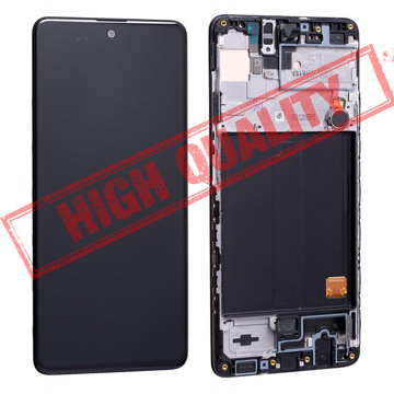 SAMSUNG A515F Galaxy A51 (2020) - LCD - Complete front + Touch Black Copy