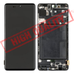 SAMSUNG A715F Galaxy A71 - LCD - Complete front + Touch Black Copy