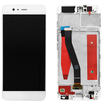 HUAWEI P10 - LCD + Frame + Touch White OEM