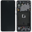 SAMSUNG A516F Galaxy A51 5G - LCD - Complete front + Touch Black Original