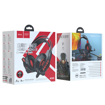 HOCO - W102 COOL TOUR GAMING WIRED HEADPHONES RED