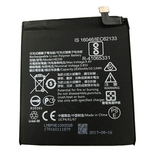 NOKIA 3 - ORIGINAL BATTERY 2630mAh (=HE330/HE319) BULK
