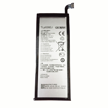 ALCATEL Alcatel 6055 Idol 4 - ORIGINAL BATTERY 2610mAh (=Tlp026EJ) , Bulk