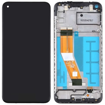 SAMSUNG A115 Galaxy A11 - LCD - Complete front LCD + Touch Black Original