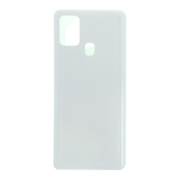 SAMSUNG A217F Galaxy A21s - Battery cover + Adhesive White Original
