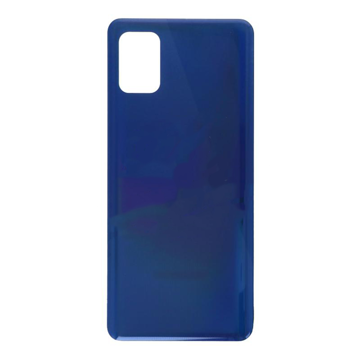 SAMSUNG A315F Galaxy A31 - Battery cover + Adhesive Blue Original