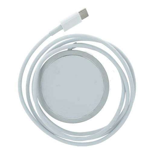 WIRELESS CHARGER MAGSAFE 15W Type C SILVER